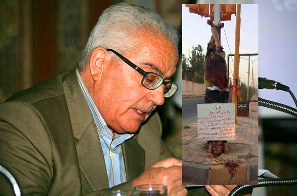 الدكتور خالد الأسعد، وجثته المعلقة في الطريق العام