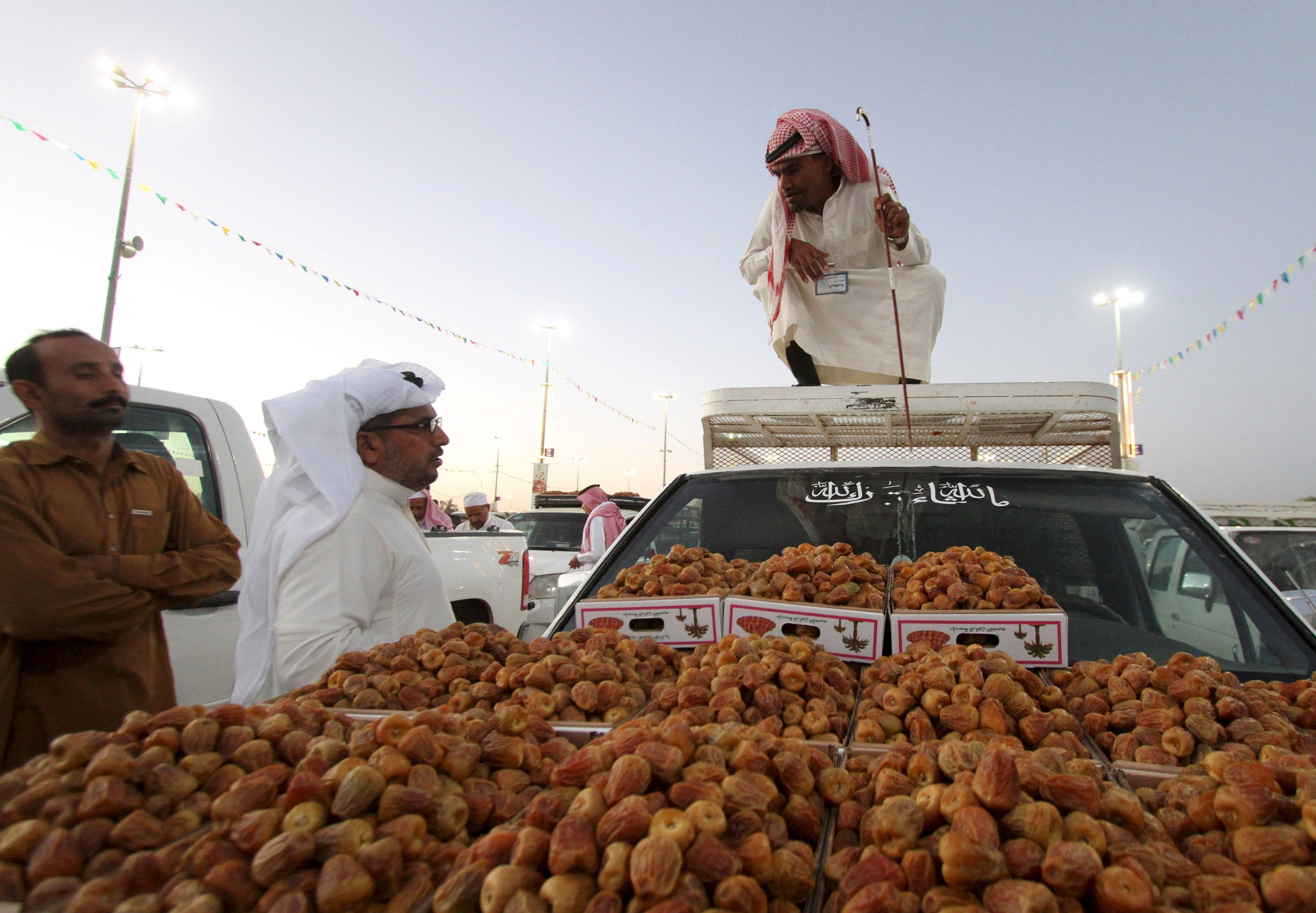 A day at the Saudi dates festival