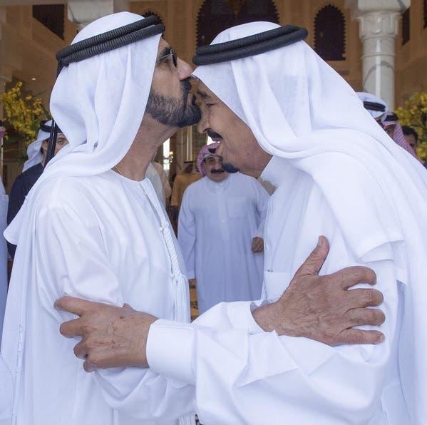 ملک سلمان بن عبدالعزیز و شیخ محمد بن راشد