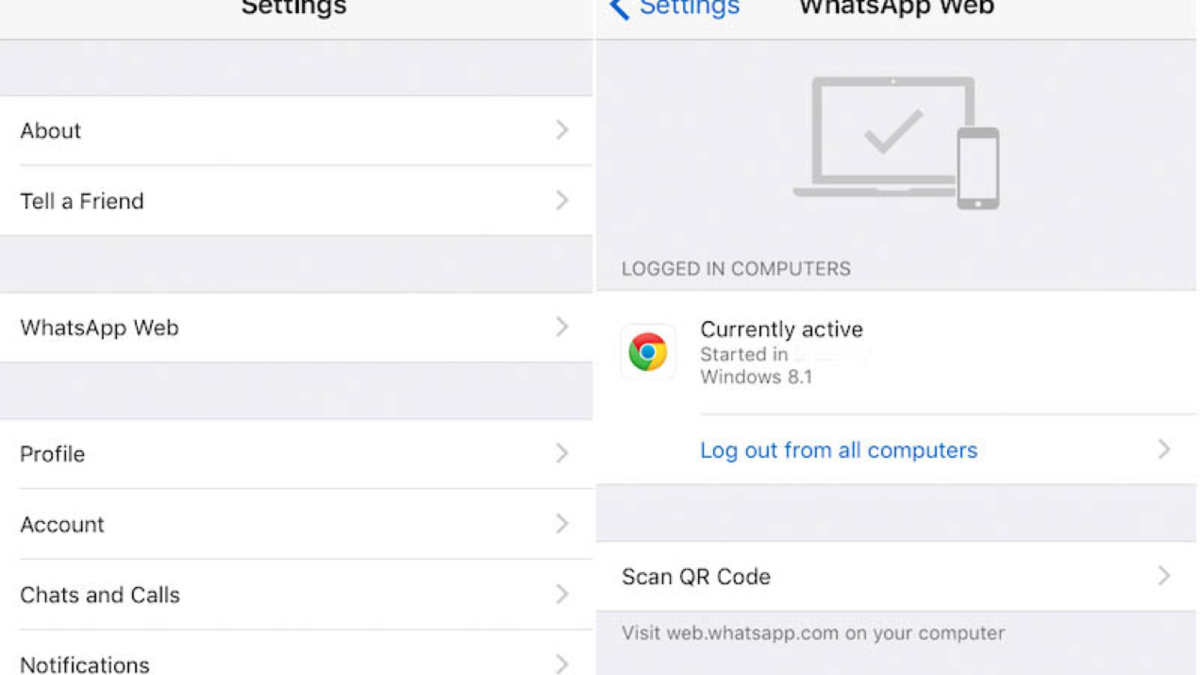go to whatsapp settings go to chat backup ...