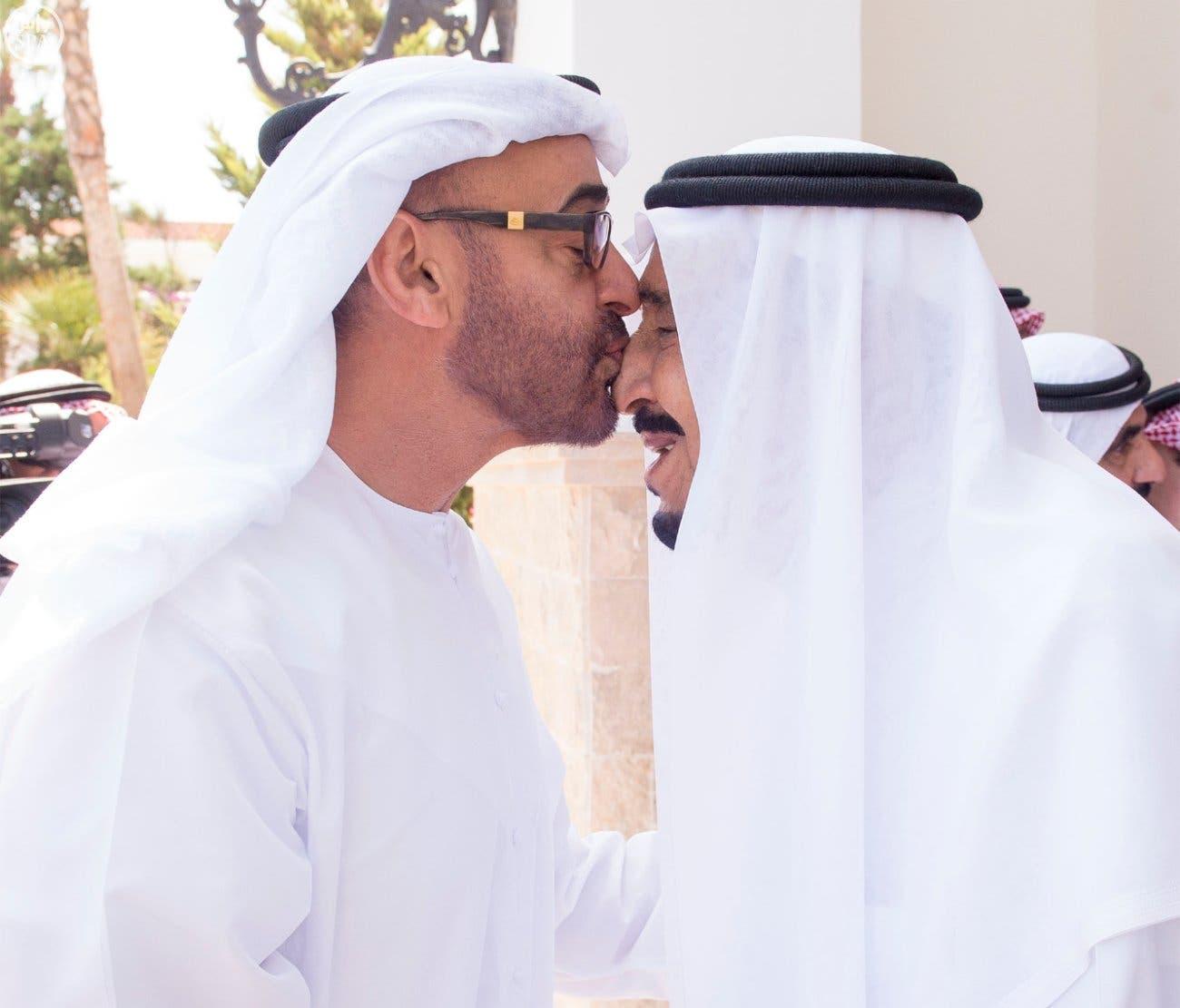 ملک سلمان و شیخ محمد بن زاید