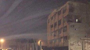 عشرات الجرحى في انفجار كبير قرب القاهرة.. و#داعش يتبنى