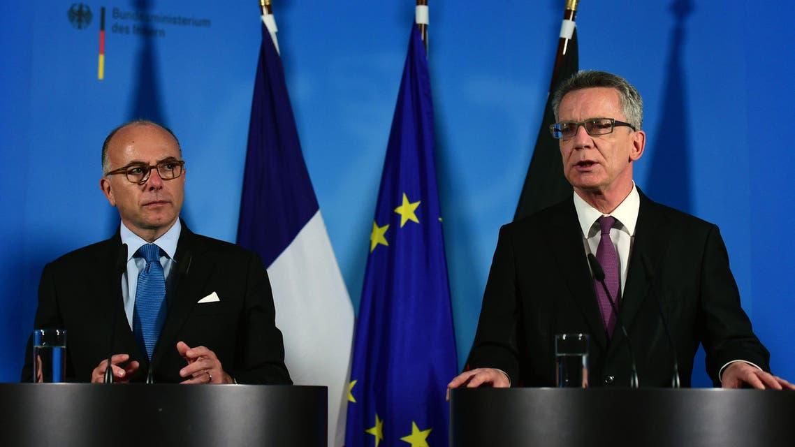وزراء الداخلية الفرنسي والألماني