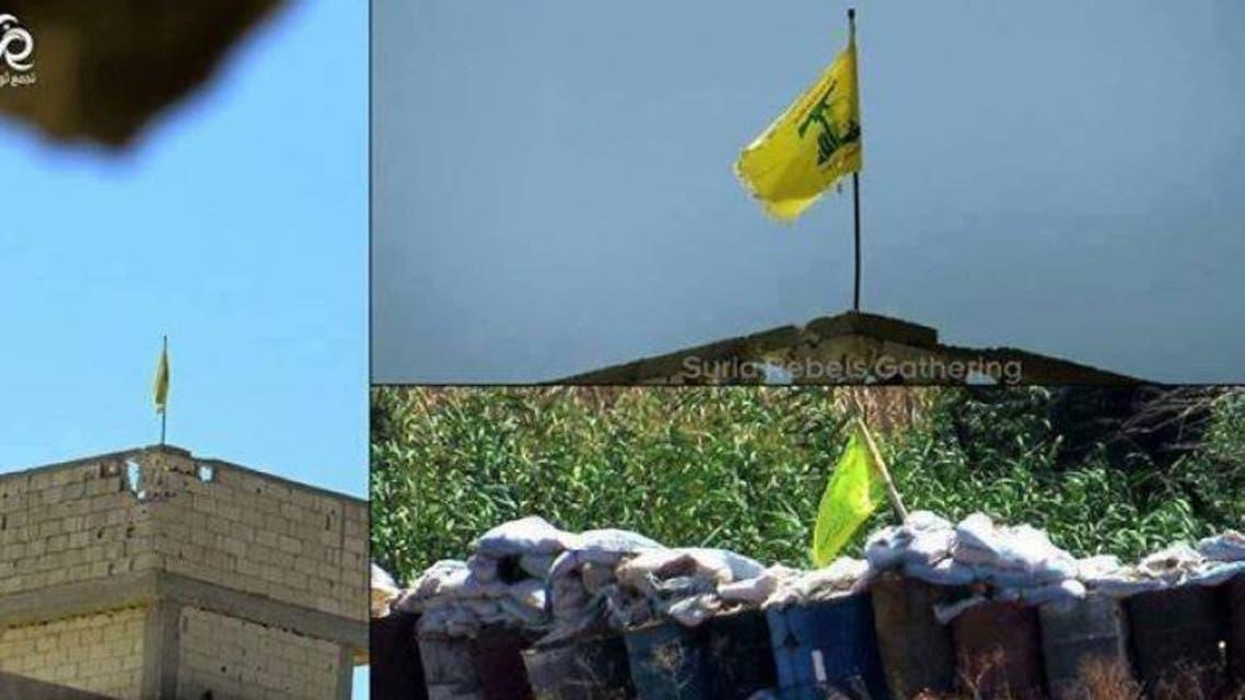 راية حزب الله كما تظهره الصور