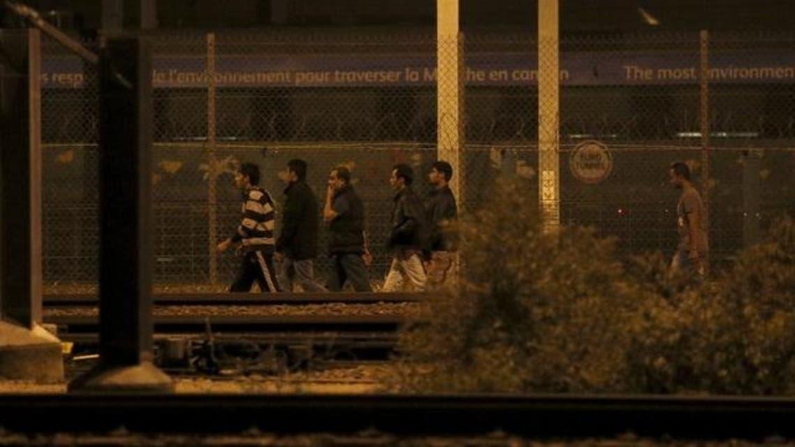 يوروتانيل فرنسا بريطانيا مهاجرون