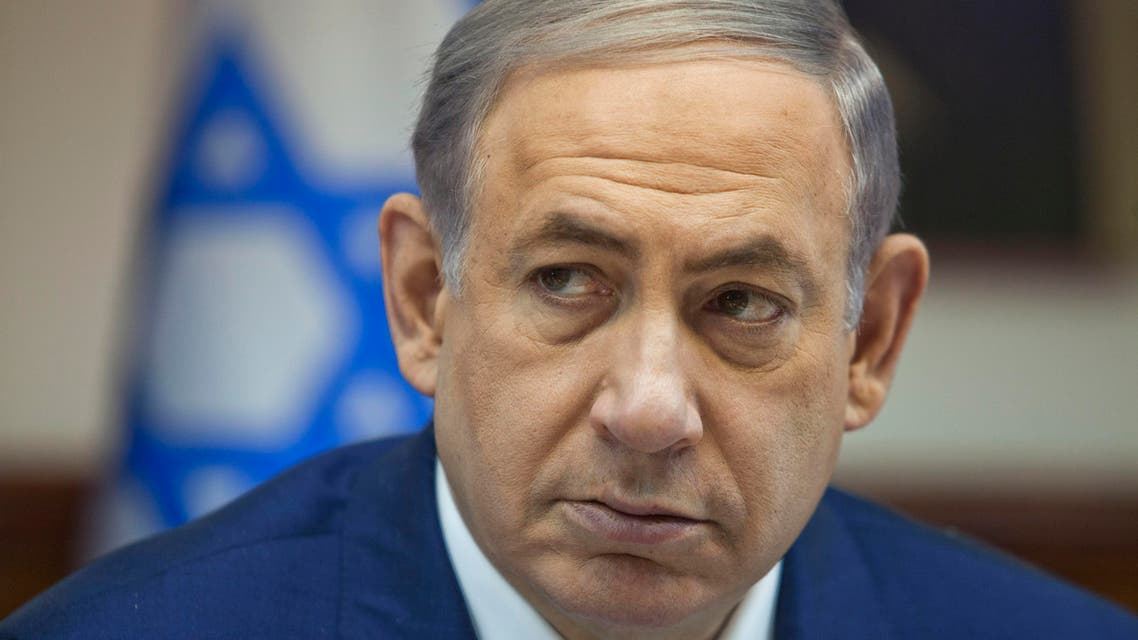 Israeli Prime Minister Benjamin Netanyahu attends a cabinet meeting in Jerusalem, Wednesday, August 5, 2015. (File photo: AP)