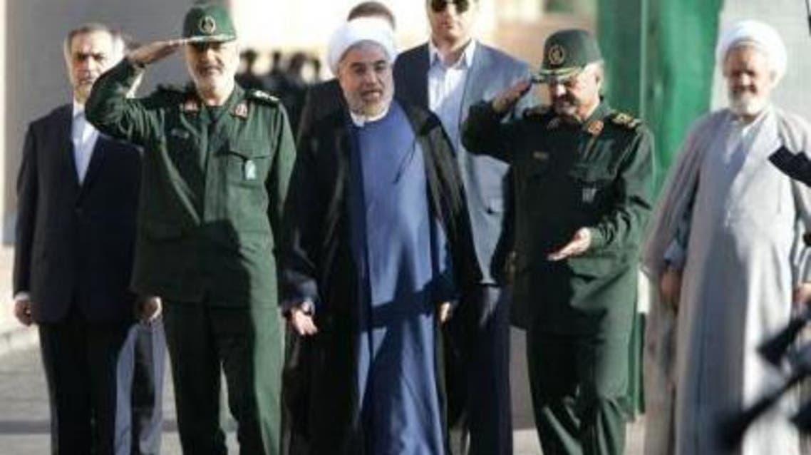 حسن روحاني و محمد علي جعفري