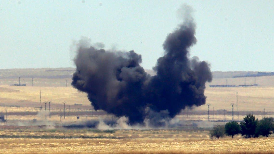 isis airstrike u.s. syria AP