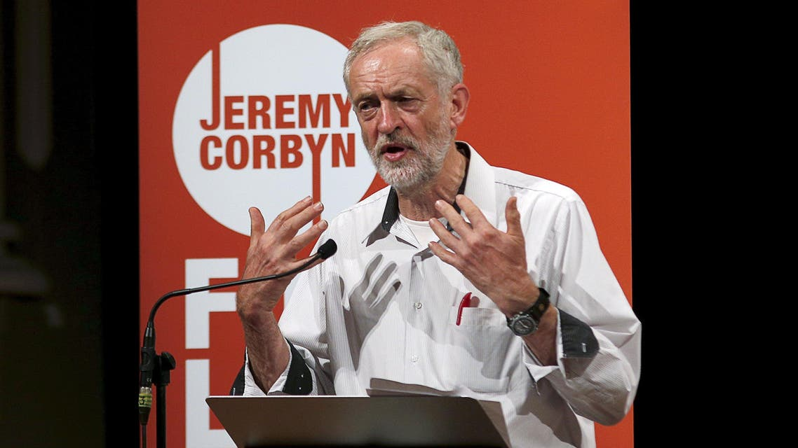 Labour Party leadership candidate Jeremy Corbyn speaks at an election campaigning event at Ealing in west London, Britain August 17, 2015. Britain's opposition Labour Party has begun voting for a new leader in a contest that polls indicate will be won by Corbyn, a veteran fan of Karl Marx who has upstaged rivals by promising a shift back to the party's socialist roots. REUTERS/Peter Nicholls