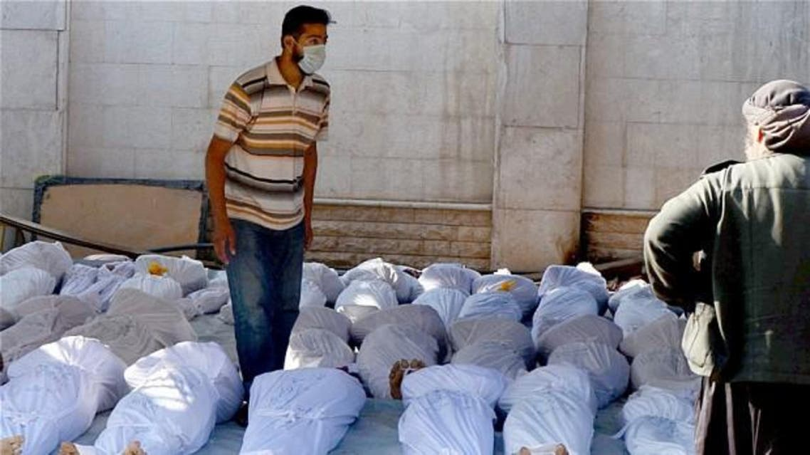 On Aug. 21, 2013, rockets containing Sarin gas were fired in Ghouta - located on the outer fringes of the capital. Around 420 children were among the civilians killed. Reuters