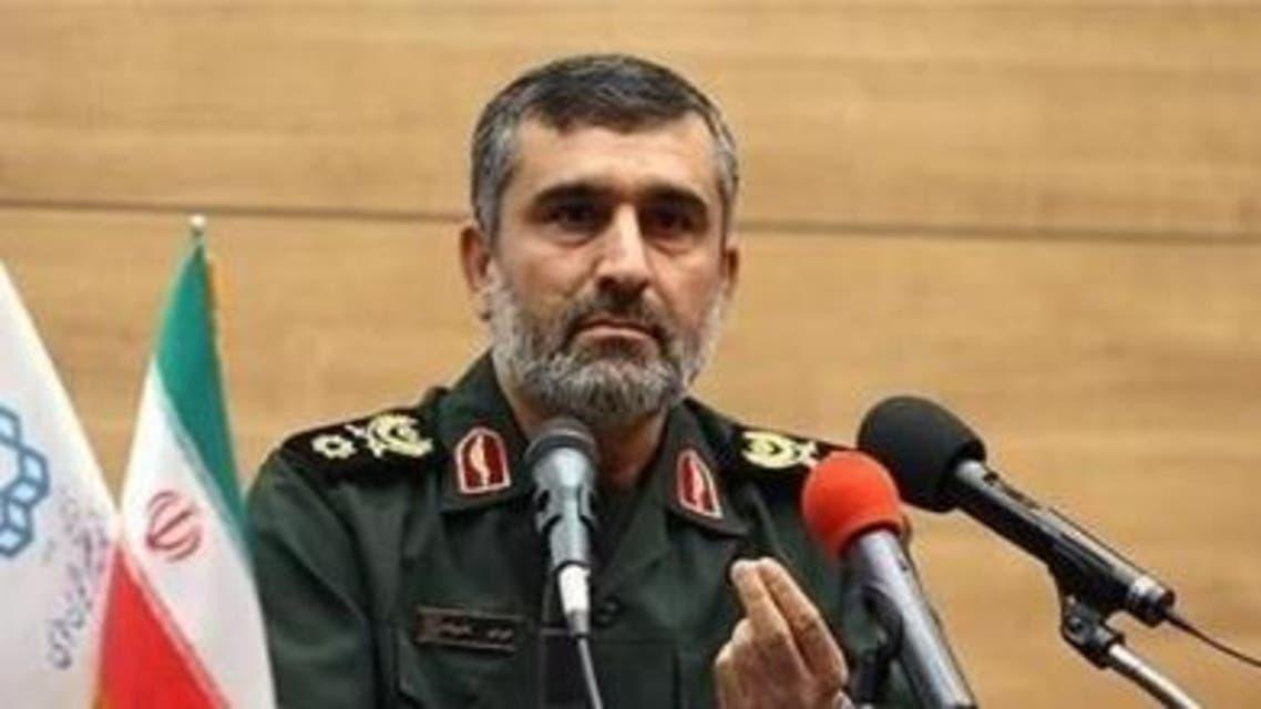 قائد القوة الجوية في الحرس الثوري الايراني، العميد أمير علي حاجي زاده