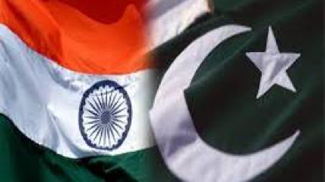 Pakistan.India flags
