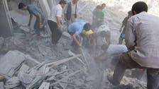 مقتل 15 وإصابة 50 بغارة روسية استهدفت مستشفى في دوما