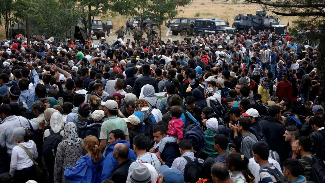 مقدونيا لاجئين
