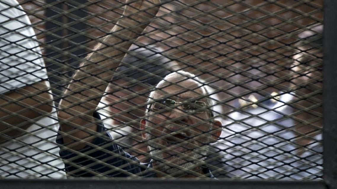 Senior Brotherhood figure Mohamed El-Beltagy and Islamist cleric Safwat Hegazy were also sentenced to life