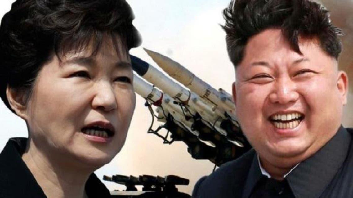 كيم جونغ أون، دكتاتور الشمالية ،وبارك كون هيه، رئيسة كوريا الجنوبية، في توتر بلغ أقصاه هذه الأيام