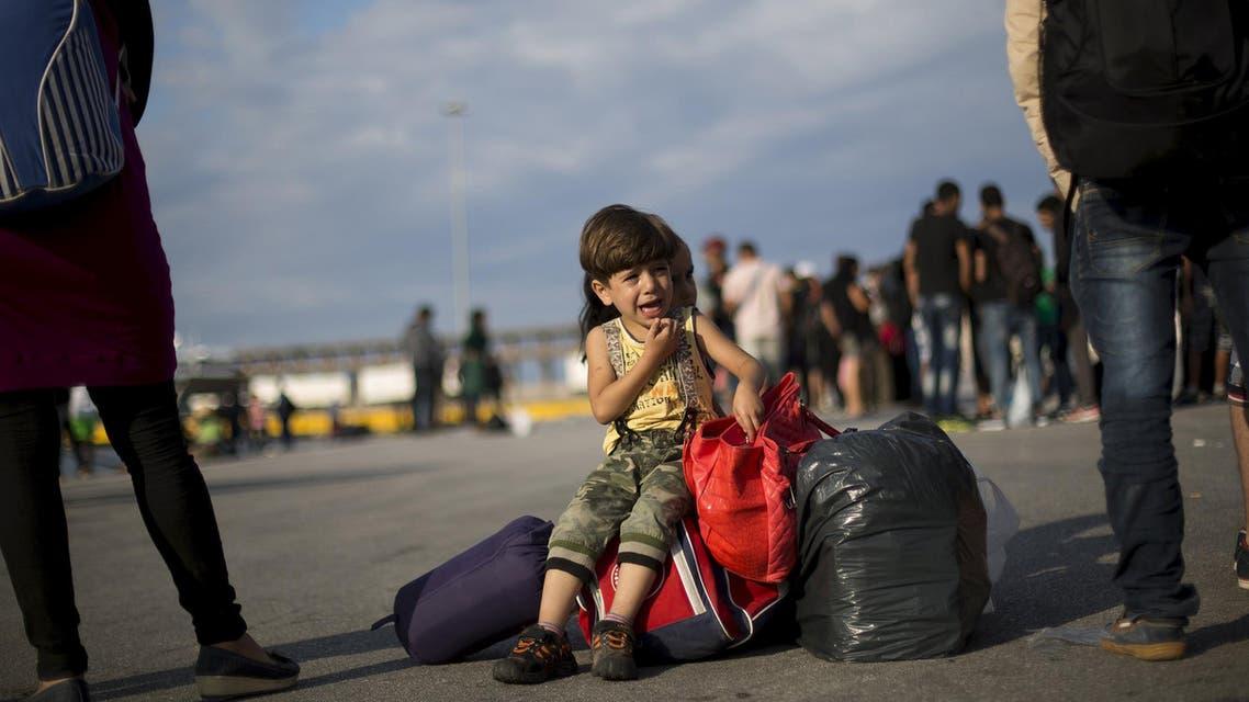 مهاجرين سوريين في اليونان