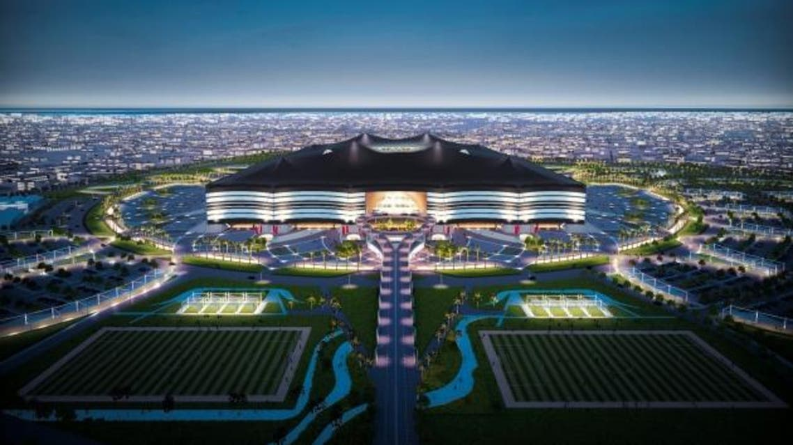 The Al Bayt Stadium, which sits almost 50 kilometers north of Doha, will seat up to 60,000 people. (Photo courtesy:www.sc.qa)