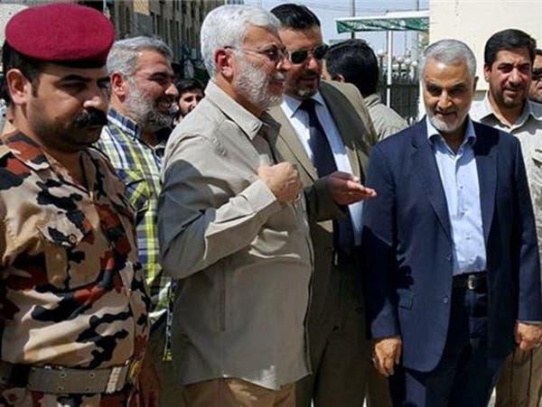 العبادي يواجه قاسم سليماني باجتماع لمسؤولين عراقيين