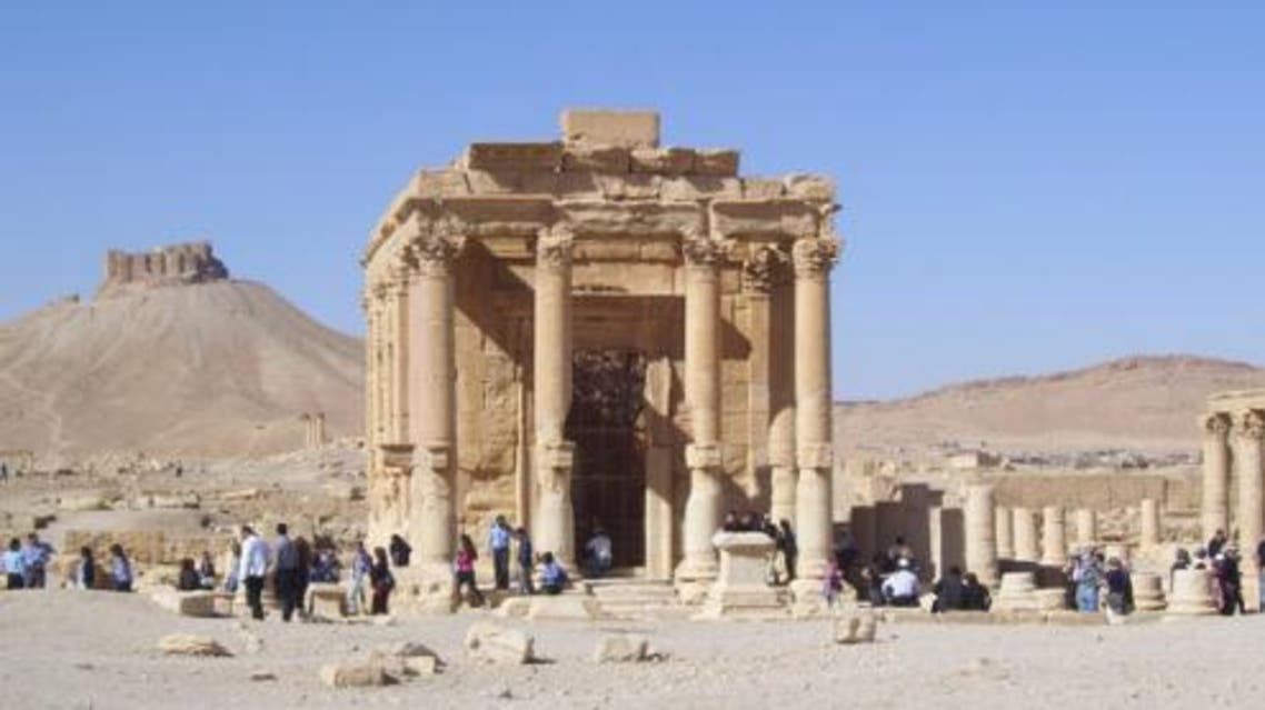 معبد بعل شمين في تدمر