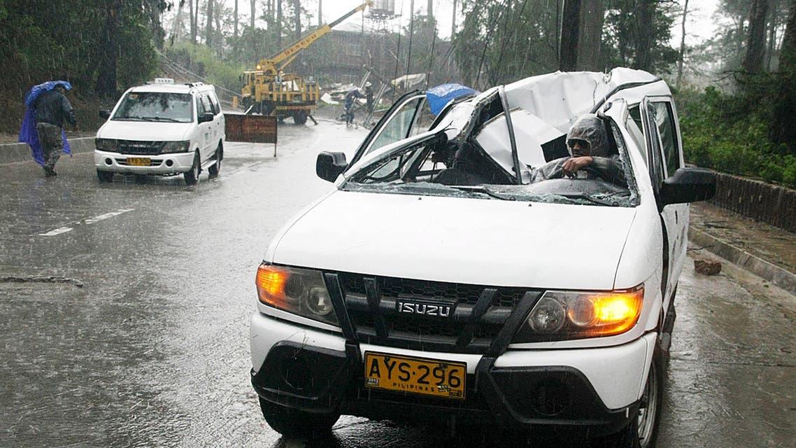 إعصار في الفلبين