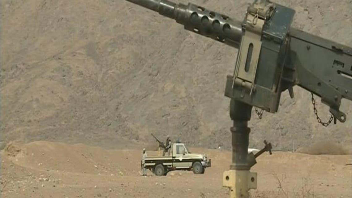 THUMBNAIL_ قصف عنيف على الحدود اليمنية السعودية