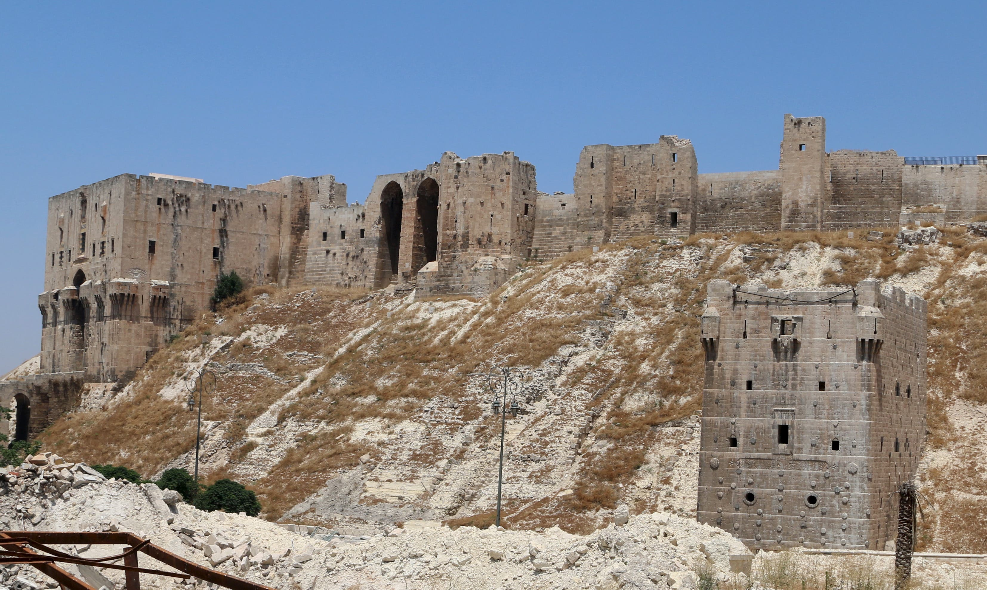 Antiquities under threat in Syria and Iraq