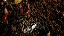 U.N. urges restraint in Lebanon protests