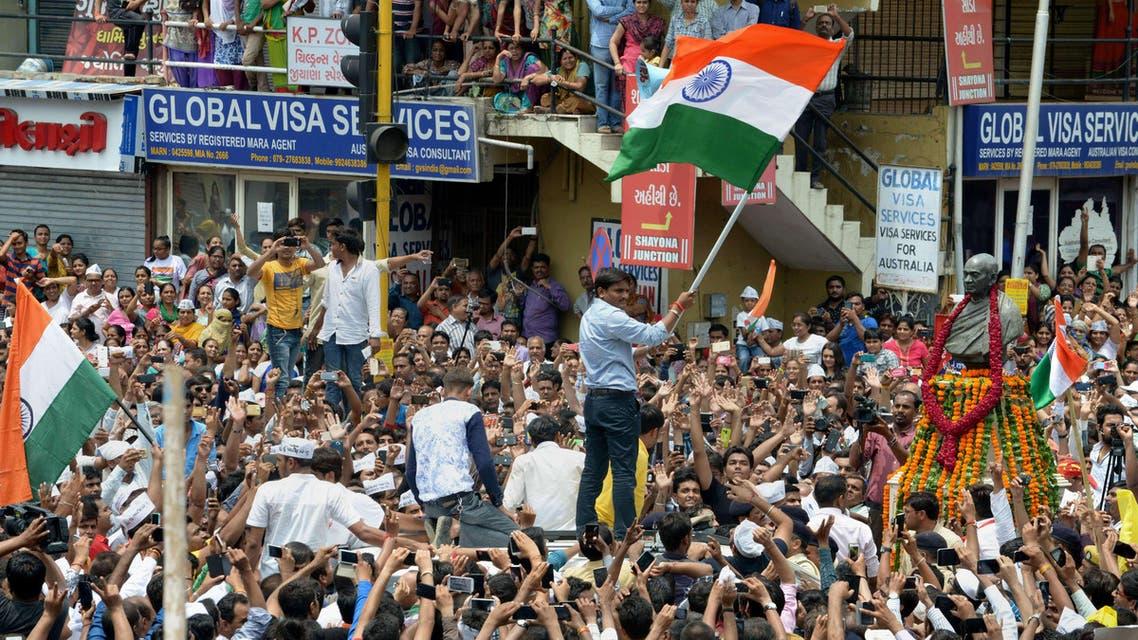 مظاهرات طبقية في الهند