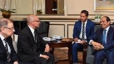 السيسي يلتقي رئيس شركة روساتوم النووية