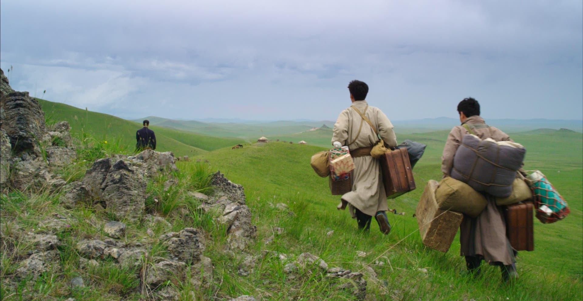 رحلة في البراري المنغولية