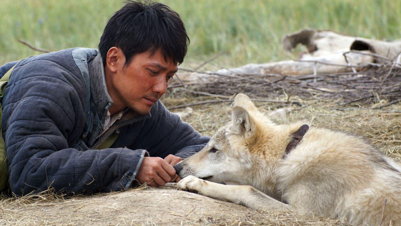 من فيلم الذئب الاخير