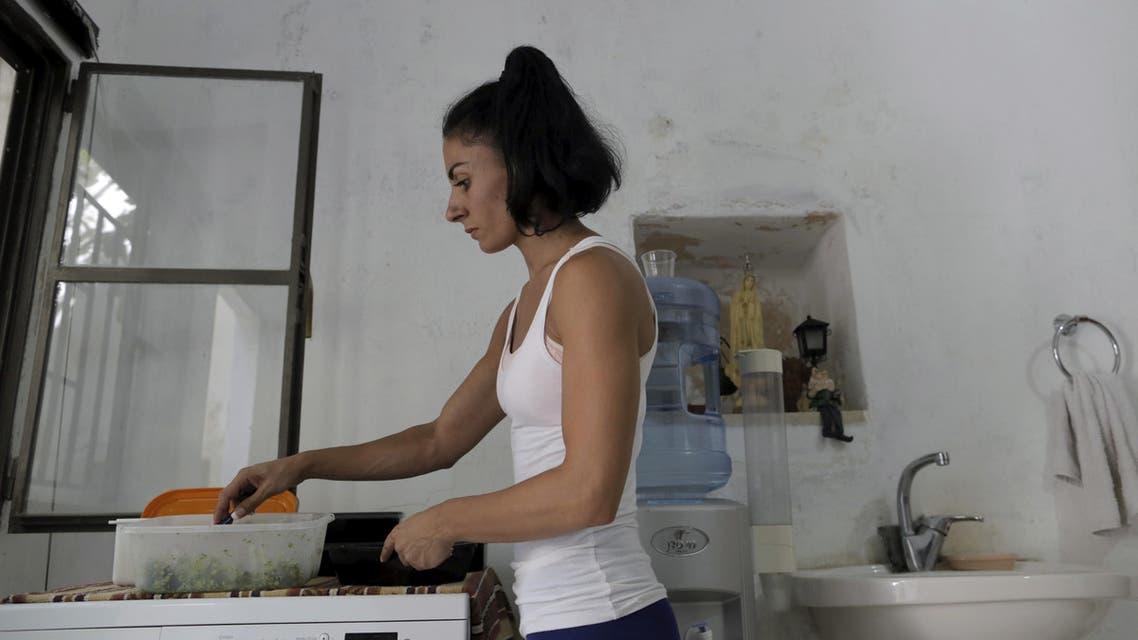 Palestinian female bodybuilder wins big