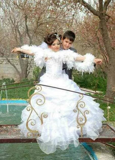 ازدواج دو کودک در ایران