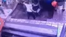 Sinkhole in China swallows five people