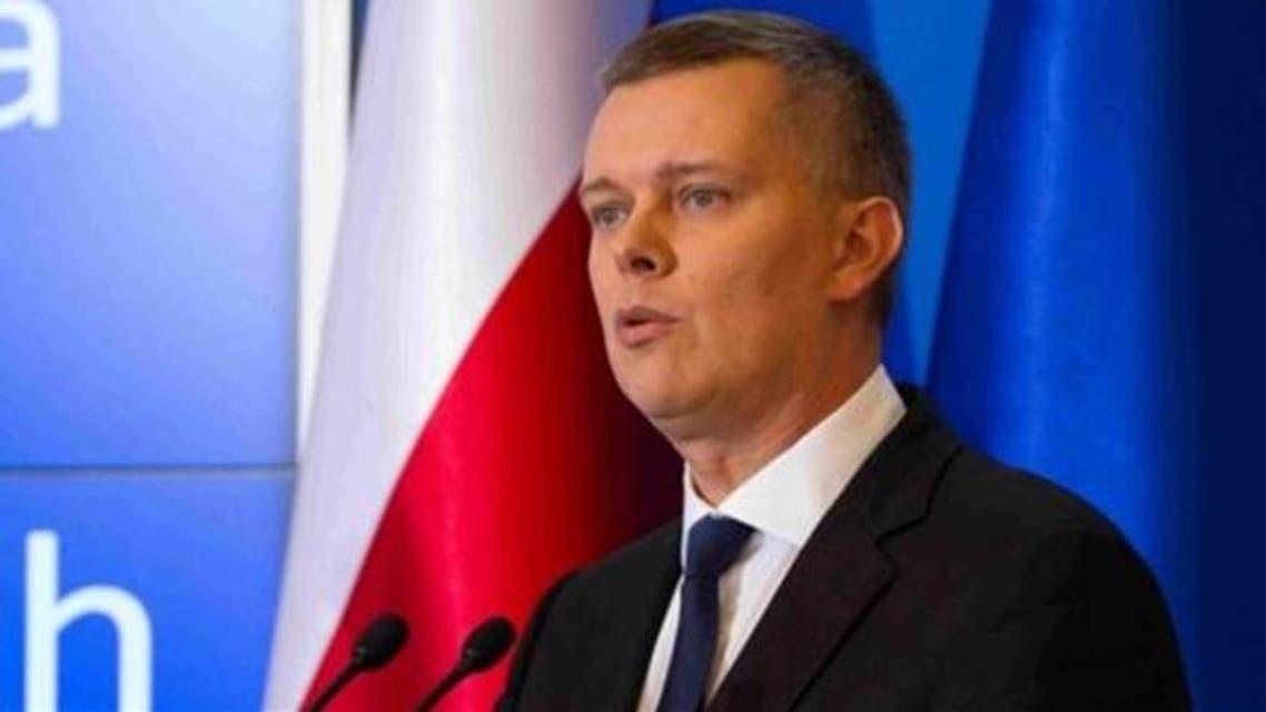 وزير الدفاع البولندي توماس سيمونياك