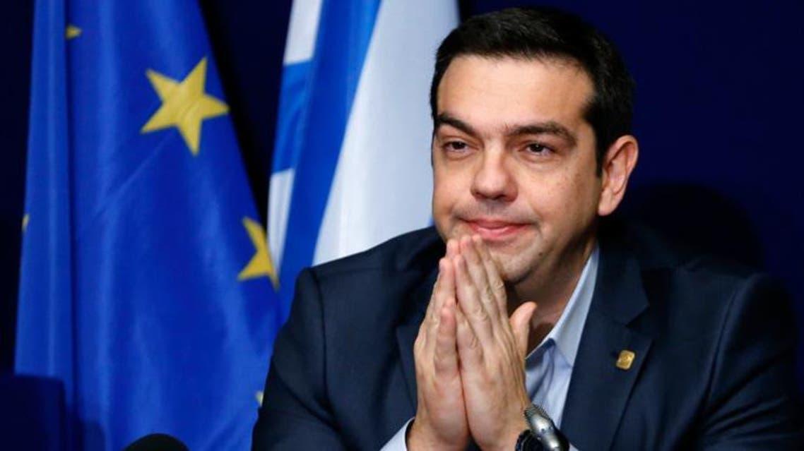رئيس الوزراء اليوناني المستقيل أليكسيس تسيبراس