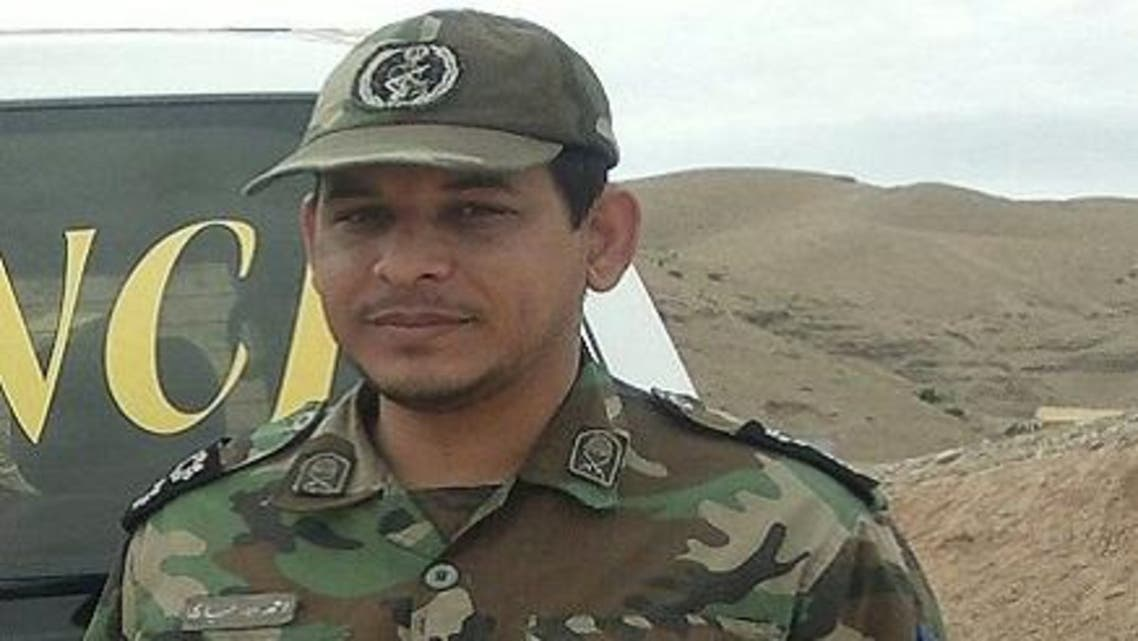 الضابط في الحرس الثوري الايراني - النقيب احمد حياري - قتل بمعارك اللاذقية