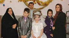 Iranian boy, 14, 'marries' 10-year-old girl