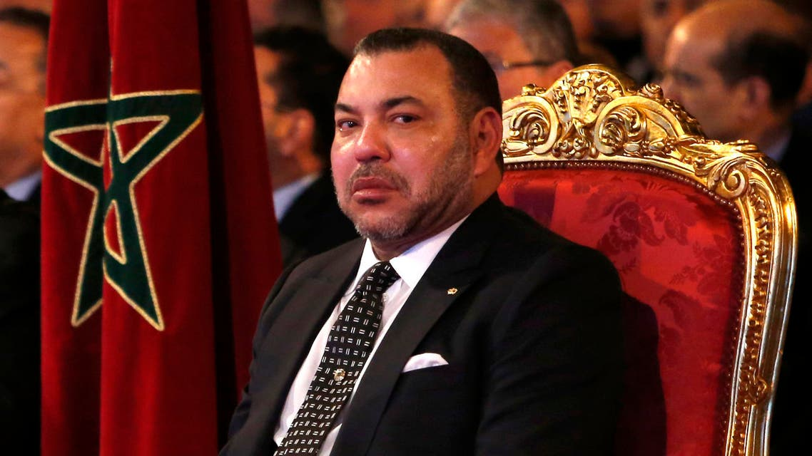 "Mohammed VI, king of Morocco chairs the launching of the 2014-2020 national industrial growth plan, a leading program following suit to the ""Emergence Strategy"", in Casablanca, Morocco, Wednesday, April 2, 2014. (AP Photo/Abdeljalil Bounhar)"