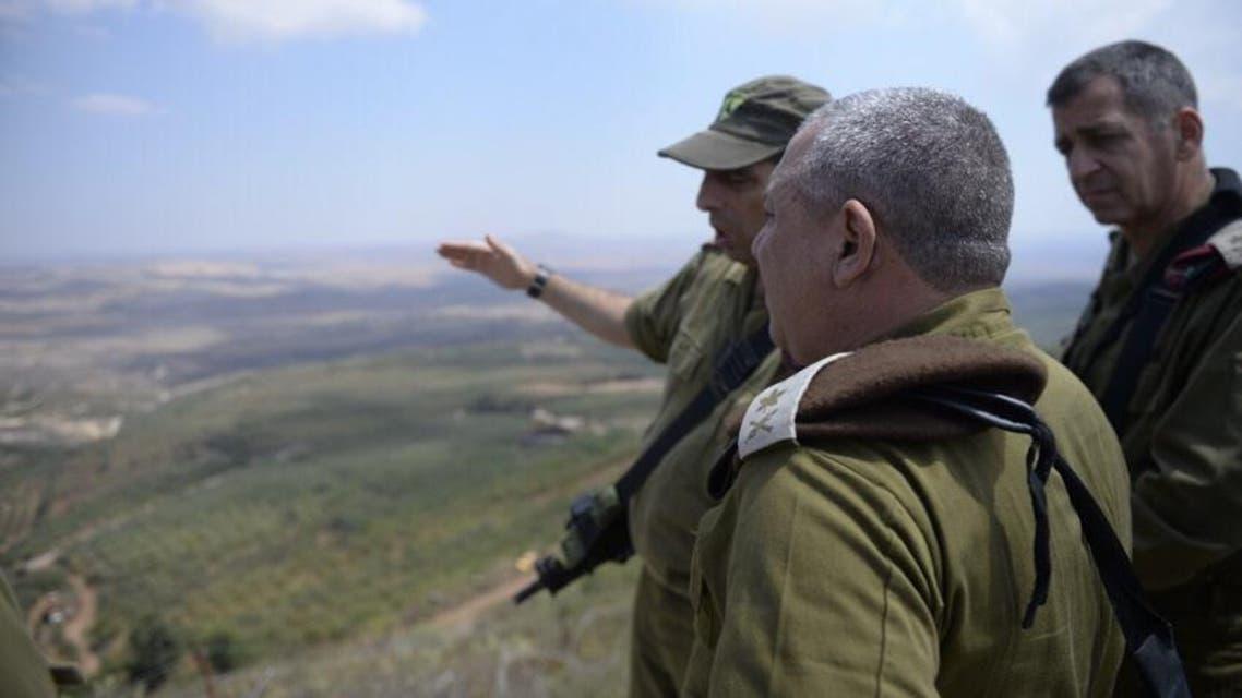 رئيس هيئة أركان الجيش الاسرائيلي في الجولان