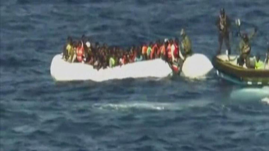 THUMBNAIL_ غرق 40 مهاجراً قبالة شواطئ ليبيا