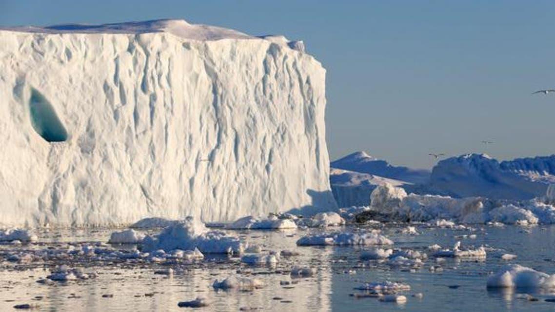 جليد ذوبان المناخ