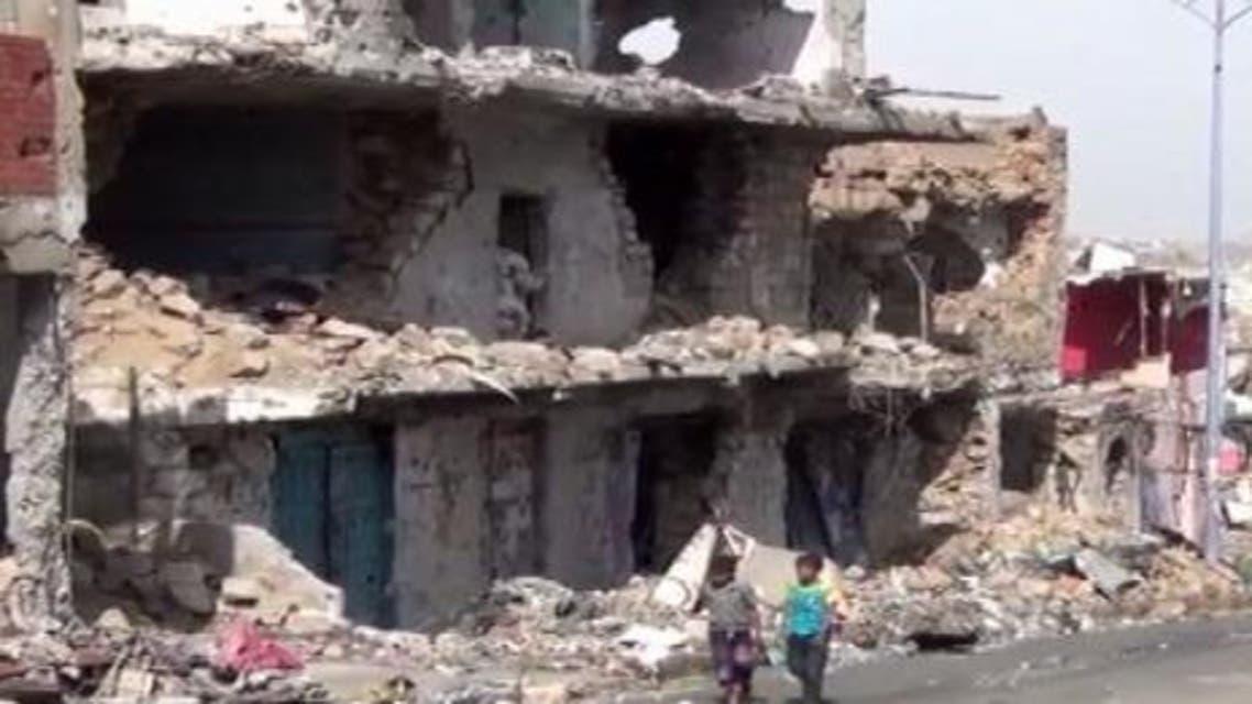 الحوثيين يدمرون آلاف المنازل والمحال في تعز