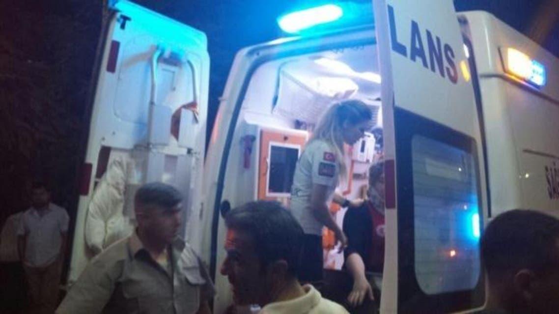انفجار ماردين في تركيا