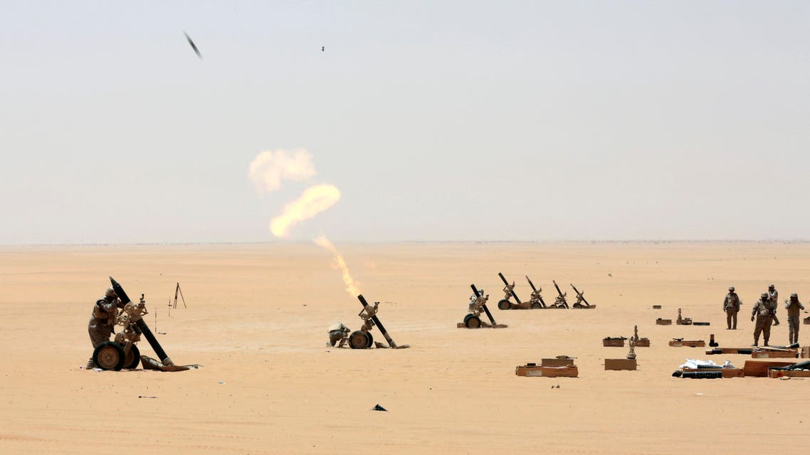 Houthi militants had reportedly targeted the courthouse in the area of al-Horth near the Yemeni border with a missile earlier on Sunday. (File: AP)