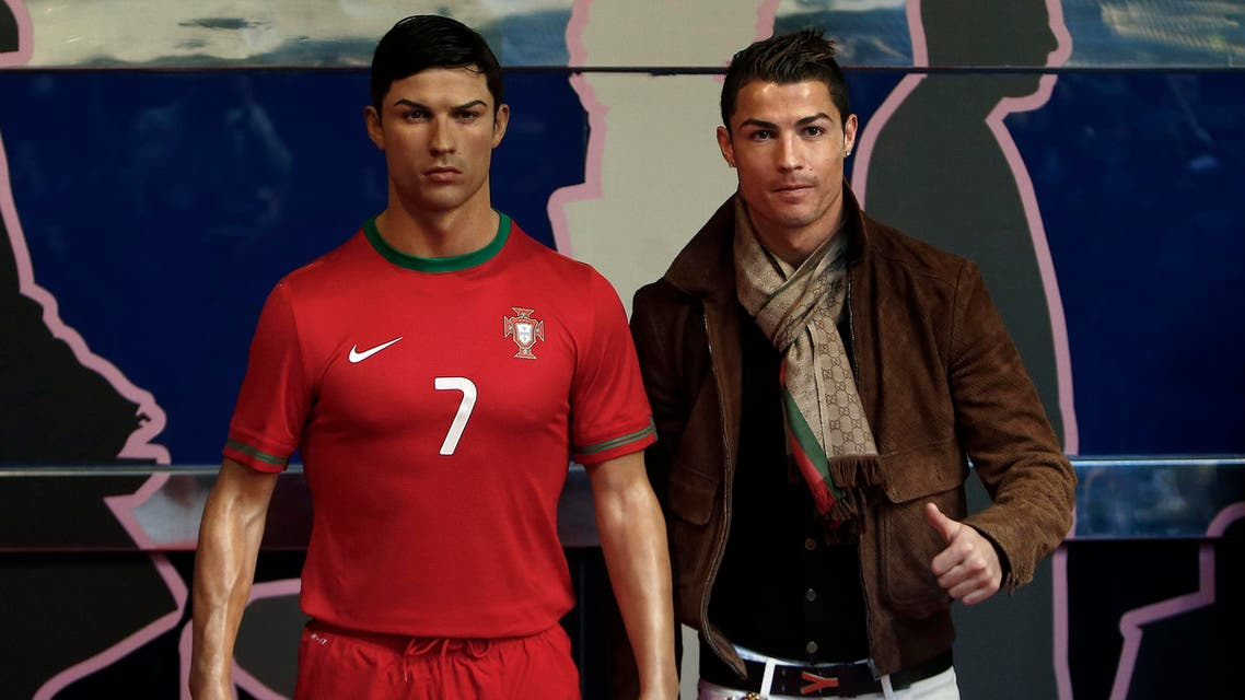 Cristiano Ronaldo has reportedly spent thousands of dollars on a waxwork of himself AP