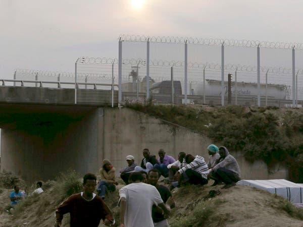 """فرنسا.. مخيم """"إنساني"""" للمهاجرين القاصدين بريطانيا"""