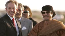Ex-UK PM Blair 'tried to save Qaddafi:' report