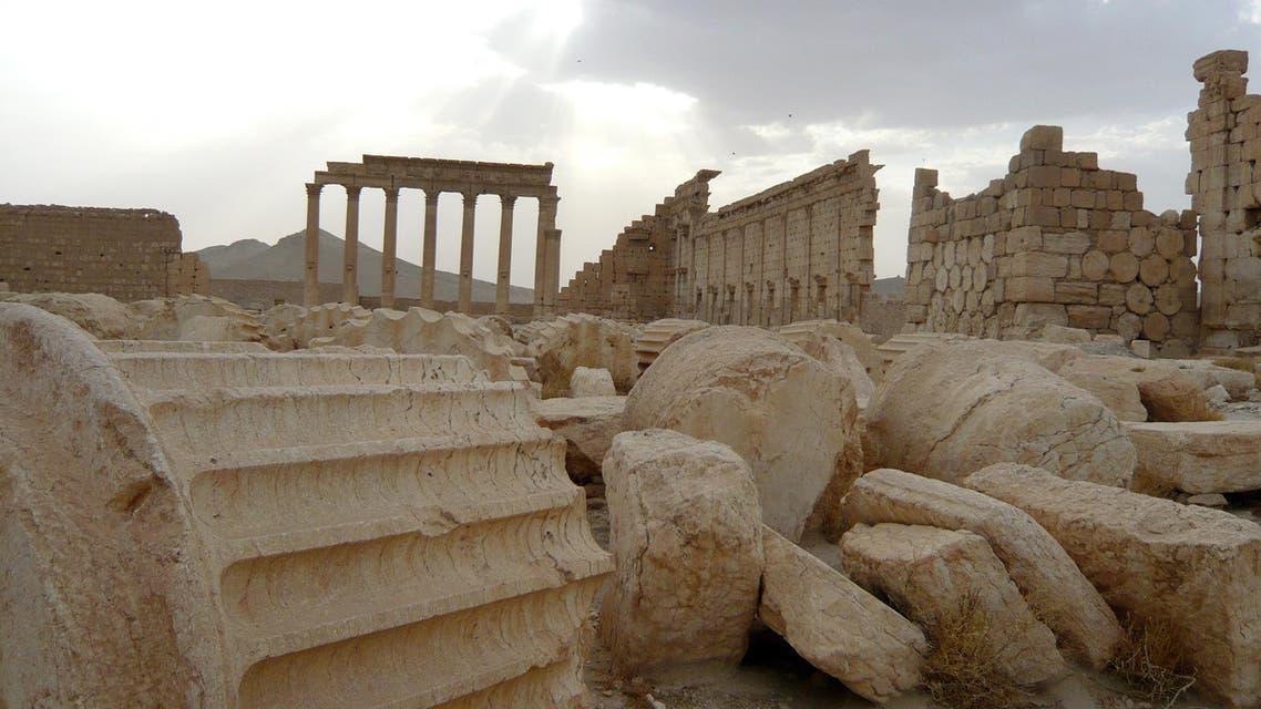 Palmyra in Ruins